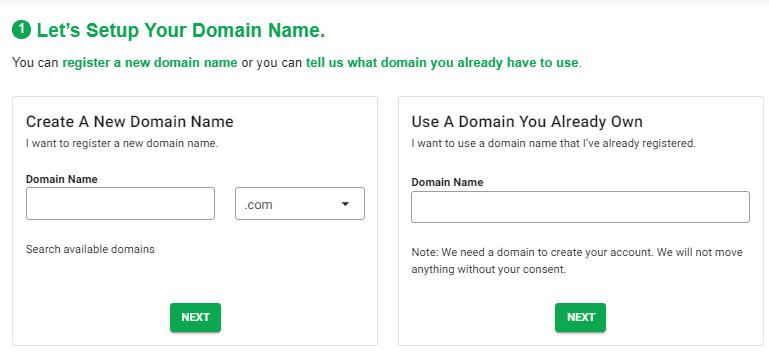Setup Your GreenGeeks FREE Domain Name